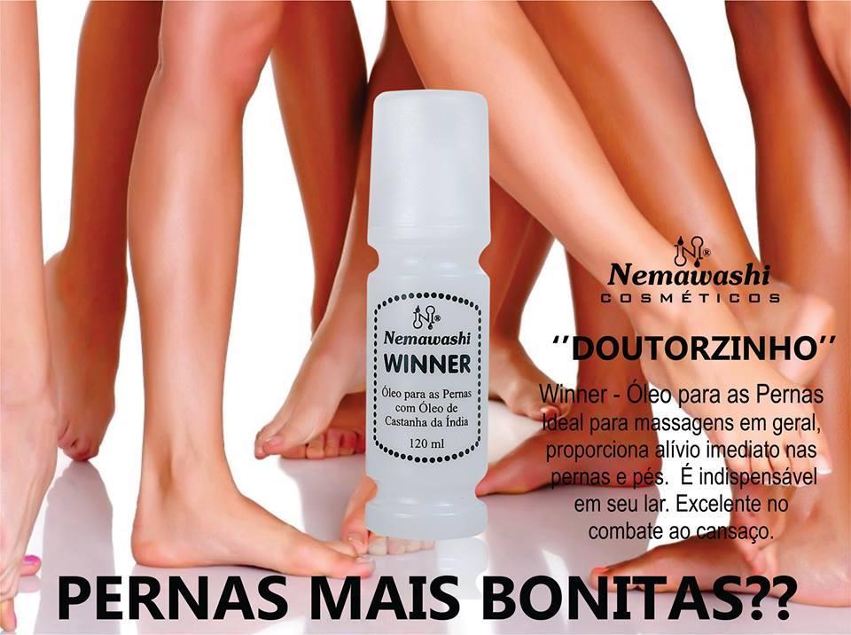 winner oleo para as pernas doutorzinho