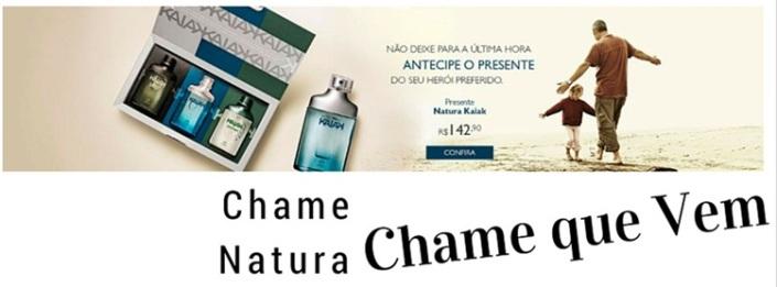 CHAME NATURA DIA DOS PAIS