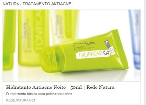 natura acne